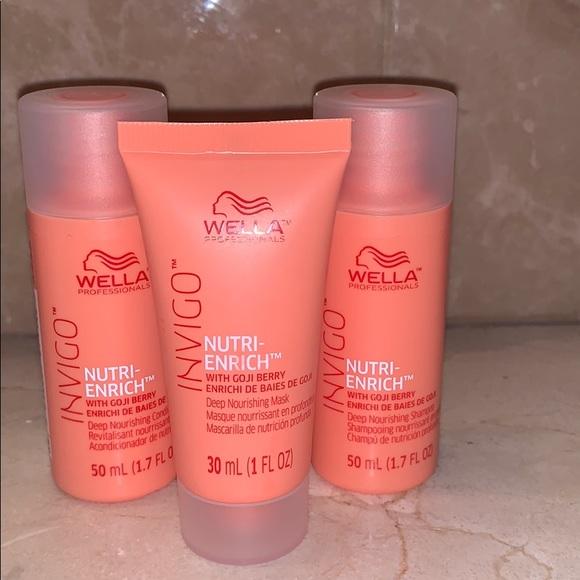 wella Other - 3 WELLA hair products mini